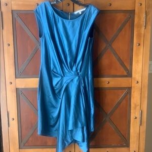 Rachel Roy Dress SZ large emerald blue